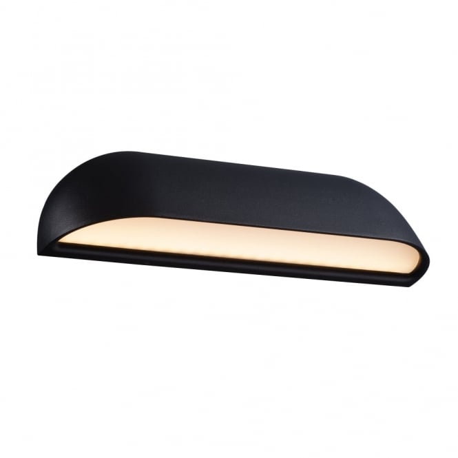 FRONT 26 - Exterior LED Wall Light Black