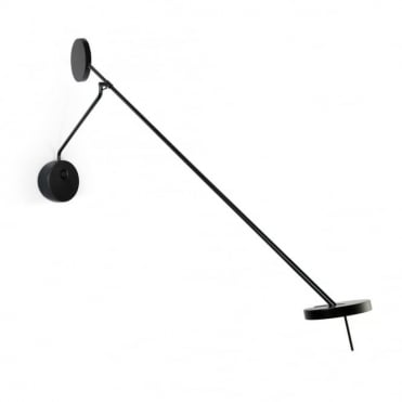 INVISIBLE - Adjustable 9W Matte Black Wall Light