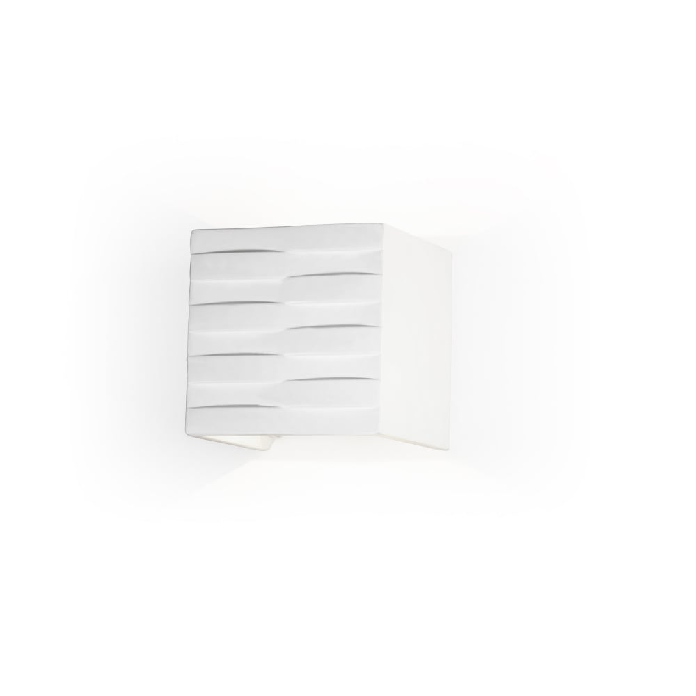 White Box Wall Lights : STREAM - 1xLED Cree 4W Matte White Wall - Lighting and Lights UK