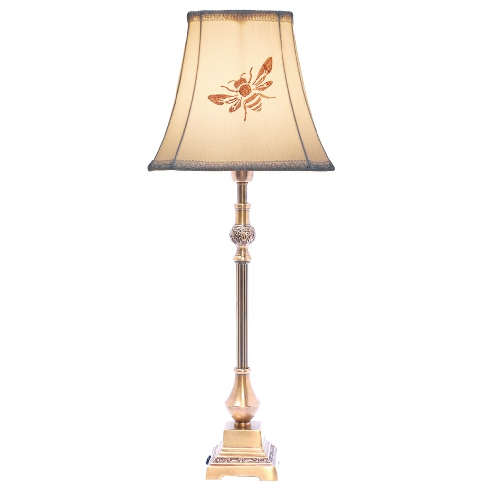 Haiden Table Lamp Antique Brass Base Only
