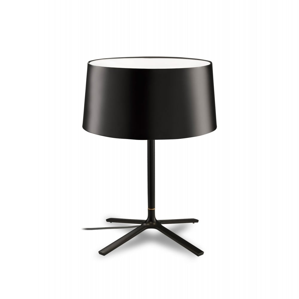 Hall large matte black table lamp with shade lighting and lights uk hall matte black table lamp with shade aloadofball Gallery