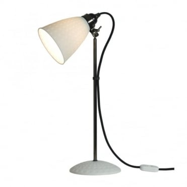 HECTOR - 21 Table Lamp White Textured