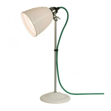 HECTOR - Bibendum Table Light White With Green Cable
