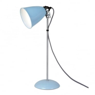 HECTOR - Medium Table Light in Pale Blue