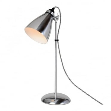 HECTOR - Metal Table Light Polished Aluminium