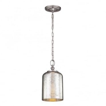 HOUNSLOW - Mini Ceiling Pendant in Chrome, Nickel, Mirror