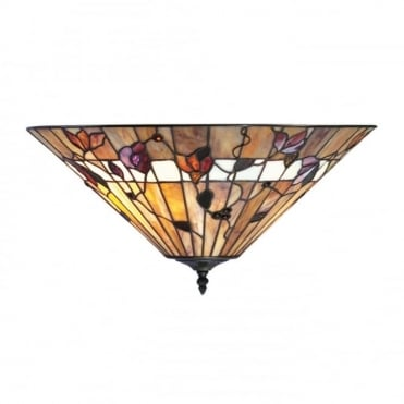 BERNWOOD - Tiffany Uplighter For Low Ceilings