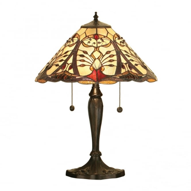 CHATELET - Art Nouveau Style Tiffany Table Lamp