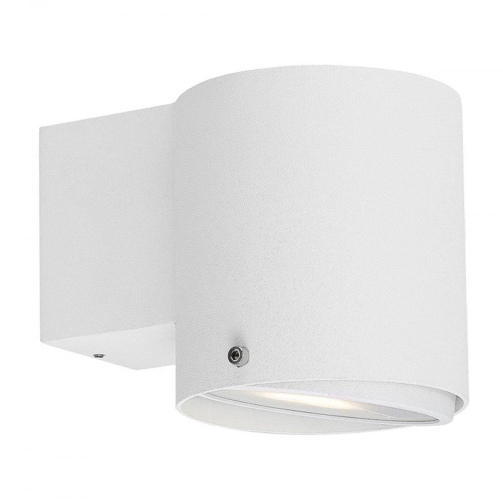 IP S5 - Modern Bathroom Wall Light in White - Lighting and Lights UK