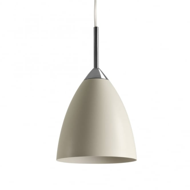 JOEL - Contemporary Ceiling Pendant (Cream)