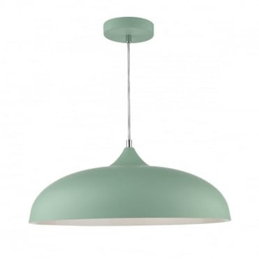 Kaelan 1 light ceiling pendant light green ceiling pendant