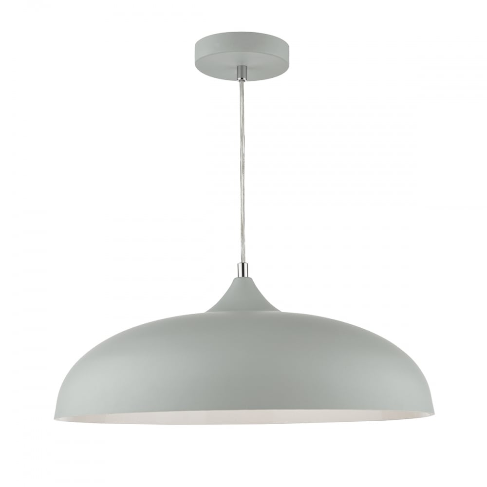 Sleek pale grey ceiling pendant lighting and lights uk kaelan 1 light ceiling pendant light grey ceiling pendant aloadofball Images