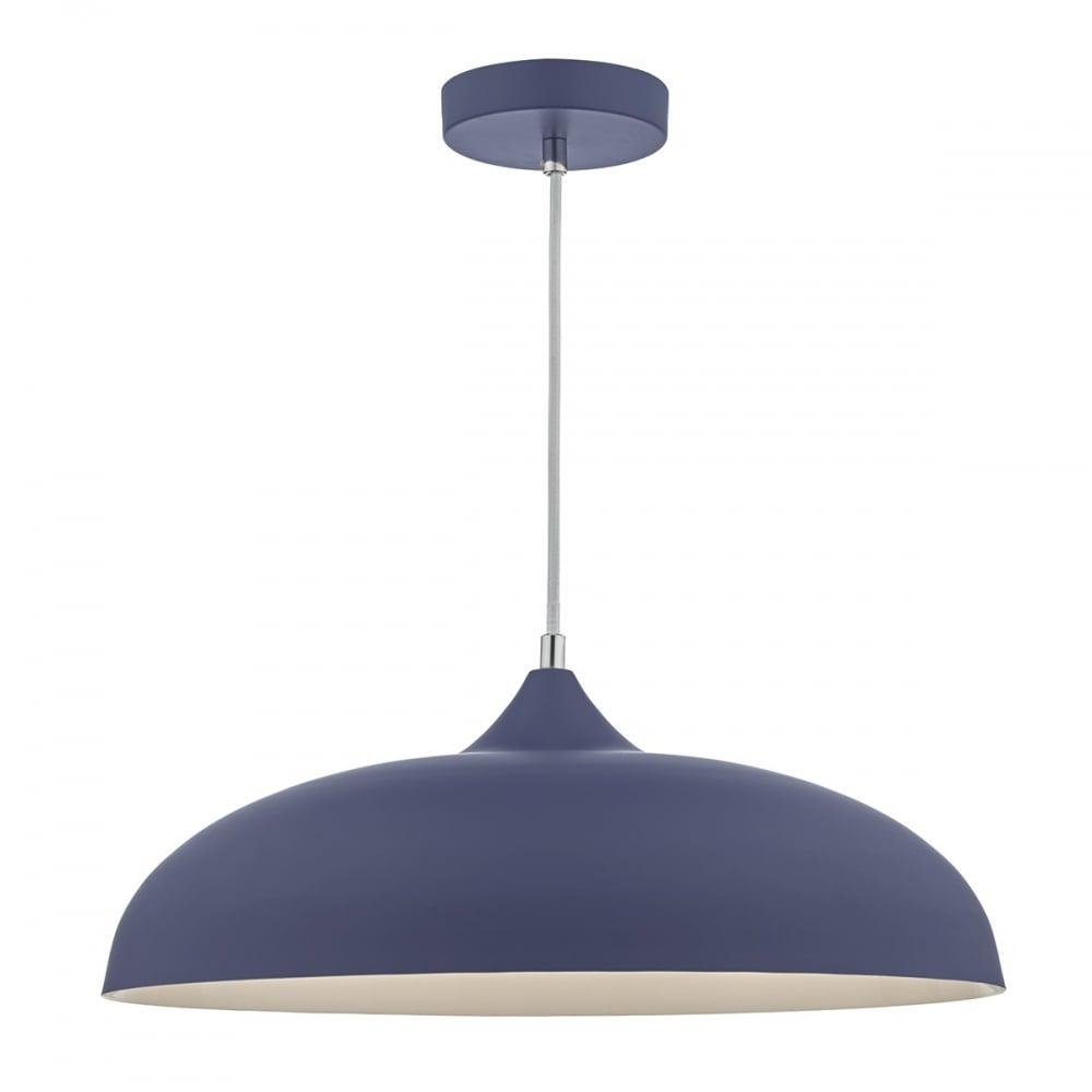 Kaelan blue ceiling pendant lighting and lights uk kaelan blue ceiling pendant mozeypictures Images