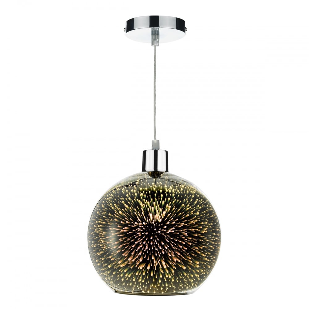 Firework easy fit ceiling light with speckled 3d glass kai easy fit ceiling light with speck led 3d glass aloadofball Image collections