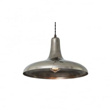 KAMAL - Moroccan Ceiling Pendant In Antique Silver