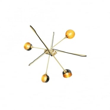 KINGSTON - Contemporary Chandelier In Powder Coated Matte Black