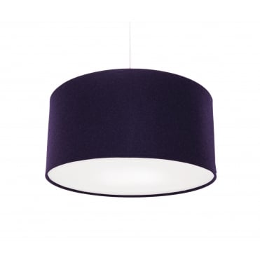 KOBE - 60 x 30 PURPLE Shade Wool with White Cotton Diffuser and Memory Foam Liner