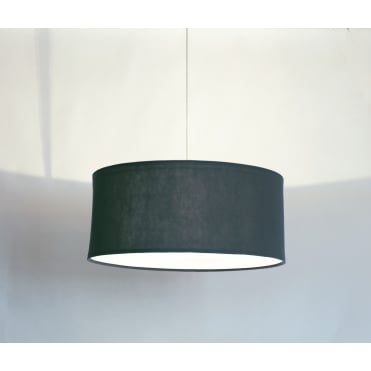 KOBE - XL 80cm Dark Grey Polyester Shade with White Cotton Diffuser and Memory Foam Liner