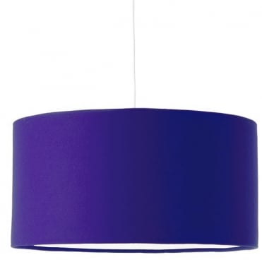KOBE - XL 80cm Purple Shade in Wool with White Cotton Diffuser and Memory Foam Liner