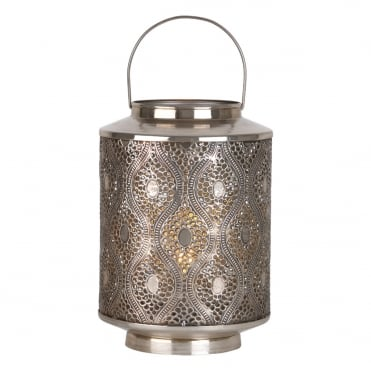 LARS Table Lamp Antique Silver