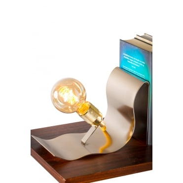LEAN - On Me Table Lamp In Brass Finish