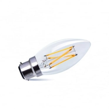 LED - Candle Bulb 3.5 Watt (Bc) 320 Lumens Dimmable