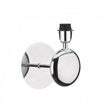 LEXINGTON - Modern Chrome Wall Light Fitting , Switched