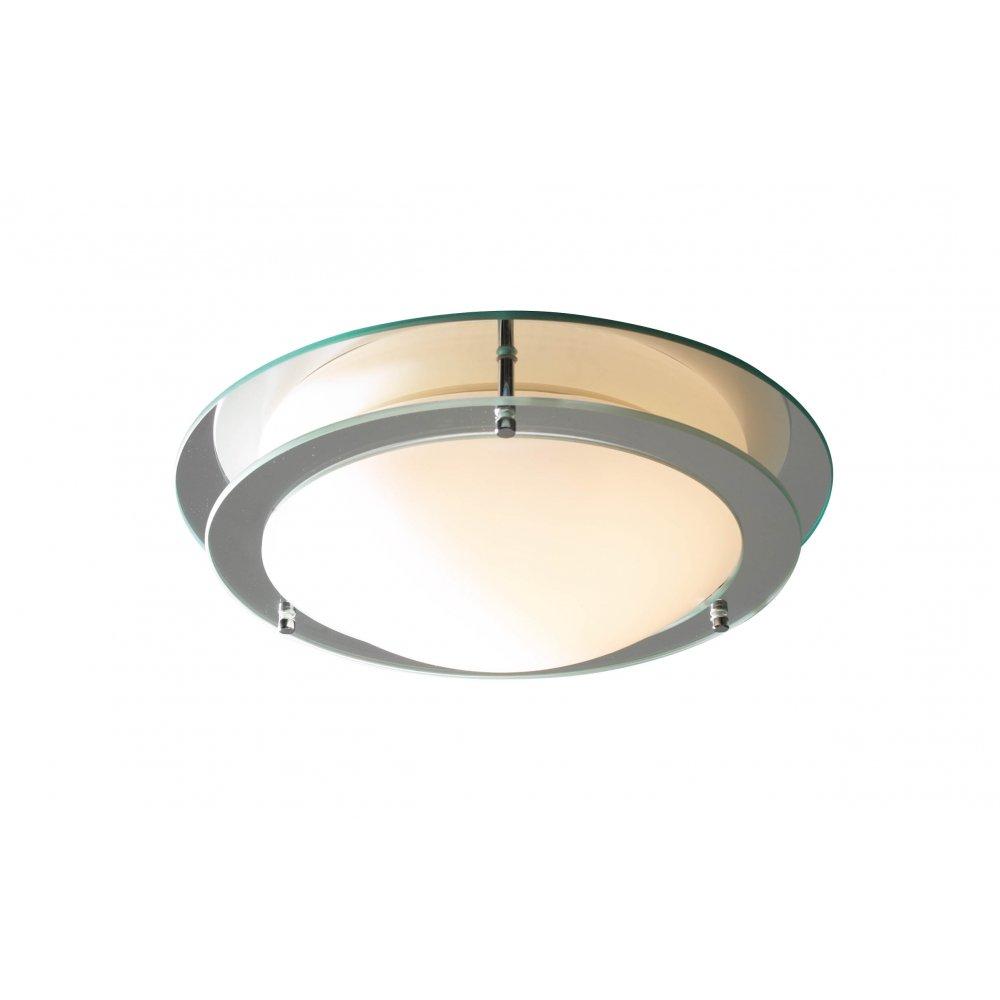 Libra Circular Bathroom Ceiling Light Ip44