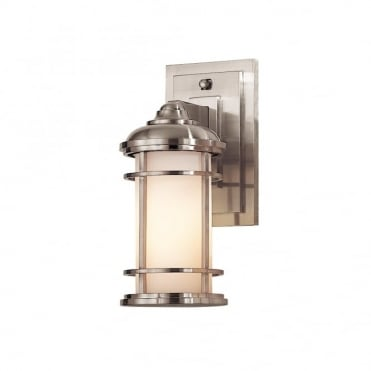 LIGHTHOUSE Small Exterior Wall Lantern Steel
