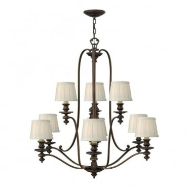 DUNHILL - 9 Light Chandelier