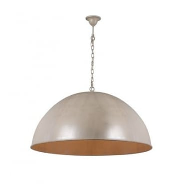 CUPULA Extra Large Dome Ceiling Pendant Beach Ivory