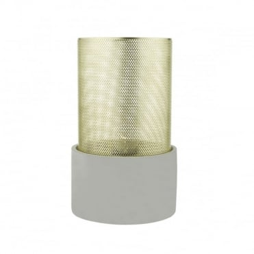 LOKI - Table Lamp Gold Grey Large Gold
