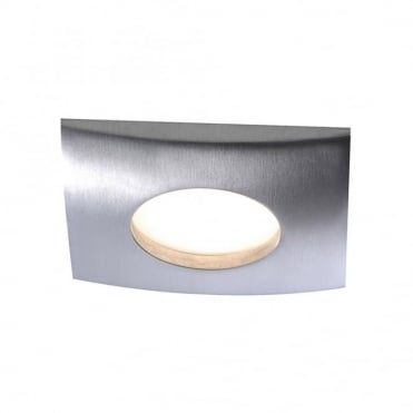 LUMECO - BathroomLED Recessed Light Aluminium in Brushed Aluminium IP44 Rated