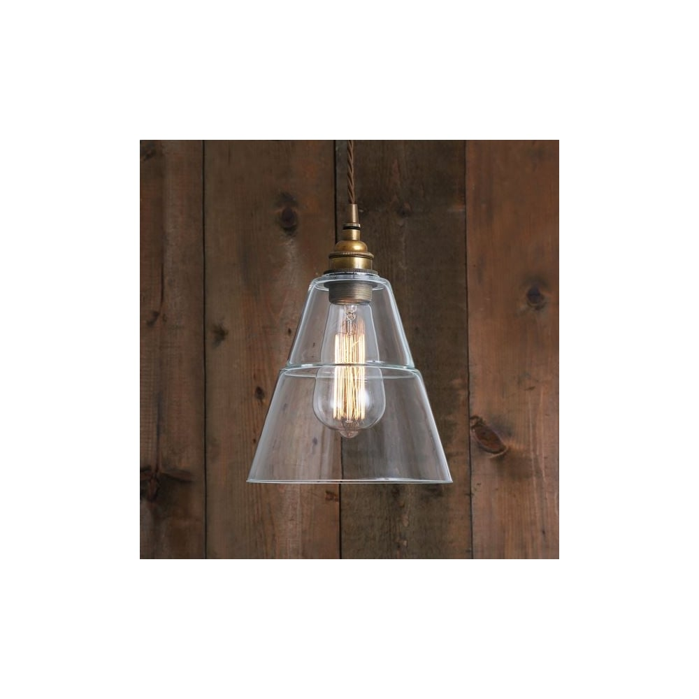 antique brass and glass ceiling pendant lighting and lights uk