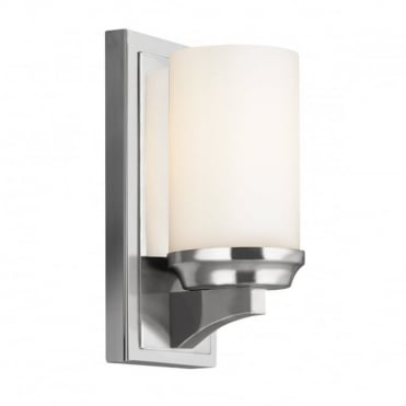 AMALIA Contemporary Bathroom Wall Light Chrome