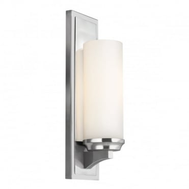 AMALIA Modern Bathroom Wall Light Chrome