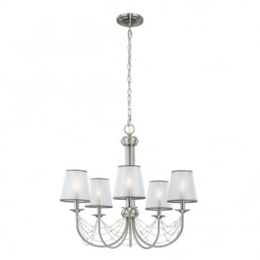 AVELINE - 5 Light Chandelier