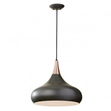 BESO 1 Light Large Pendant Dark Bronze