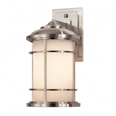LIGHTHOUSE Exterior Wall Lantern Steel