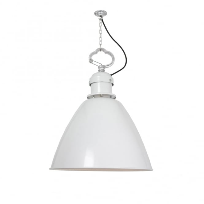 MEDIUM - 7380 Ceiling Ceiling Pendant White