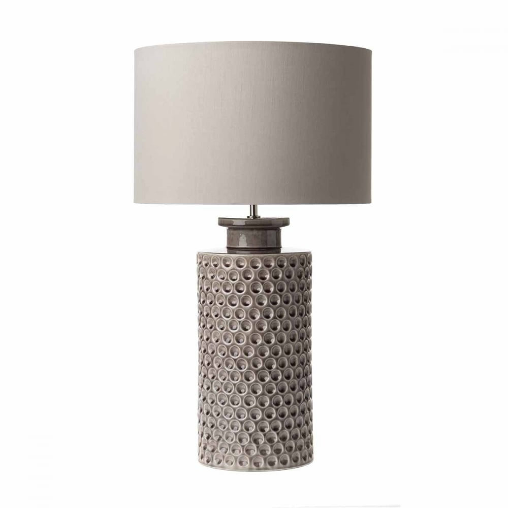 Melba ceramic purple table lamp base only