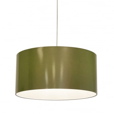 Easy fit ceiling lamp shades for wire pendant lampholders metallic 60 x 30 green shade laminated cast vinyl greentooth Gallery