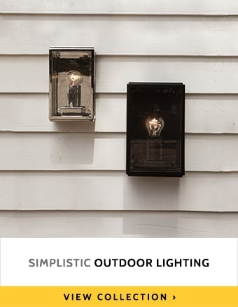 Simplistic Outdoor Lighting