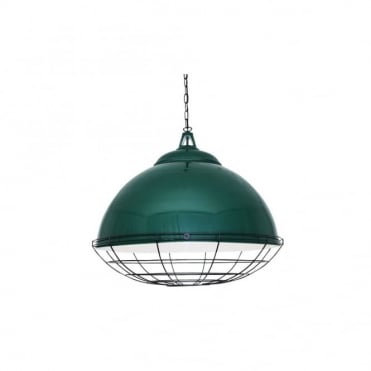 BRUSSELS - Pendant Light In Powder Coated Racing Green