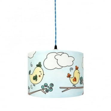 COLOUR - Me Birds Lampshade