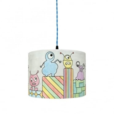 COLOUR - Me Monsters Lampshade