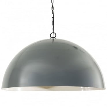 COPENHAGEN - Scandinavian Ceiling Pendant In Powder Coated Grey