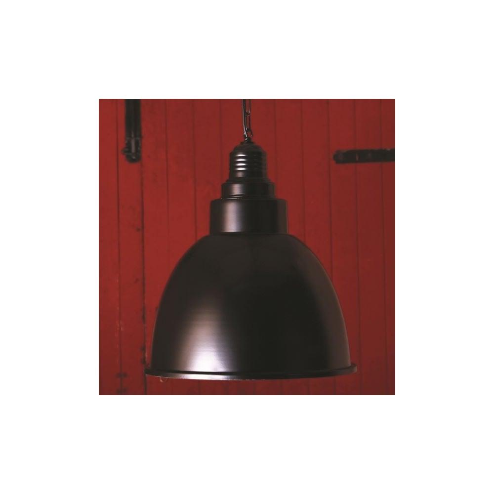 Smartwares Industrial Es Pendant Light Black Bronze: Powder Coated Black Industrial Pendant