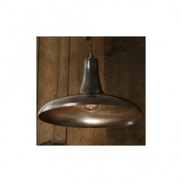 KAMAL - Moroccan Ceiling Pendant In Antique Brass