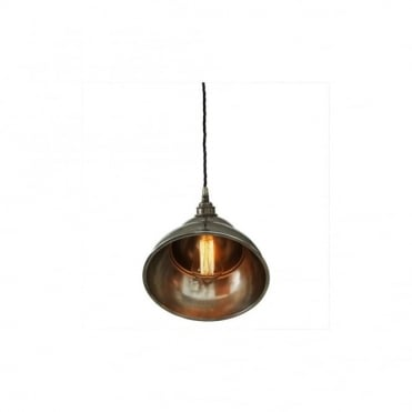 LA - Paz Ceiling Pendant In Antique Silver